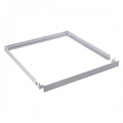 V-Tac Supporto in Plastica per il Montaggio Superficiale di Pannelli 60x60 - SKU 6627