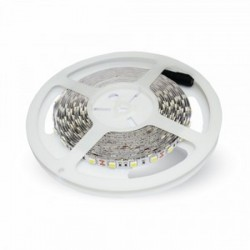 V-Tac VT-5050 Striscia LED Multi-Color RGB 9,6W/mt. 60 Led/mt. IP20 5 METRI - SKU 2120