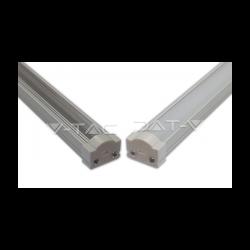 V-Tac Profilo in Alluminio per Strisce LED 1MT. - SKU 9983 | 9984