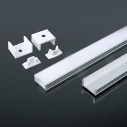 V-Tac VT-8113 Profilo in Alluminio per Strisce LED 2MT. - SKU 3355