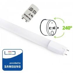 V-Tac PRO VT-061 Tubo LED T8 G13 Nano Plastic 10W 60cm CHIP SAMSUNG - SKU 650 | 651 | 652