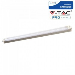 V-Tac PRO VT-15024 Plafoniera con 2 Tubi Led T8 G13 22W 150cm. CHIP SAMSUNG - SKU 6440 | 6441