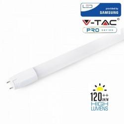 V-Tac PRO VT-152 Tubo LED T8 G13 Nano Plastic 22W 150cm High Lumen CHIP SAMSUNG - SKU 689 | 674 | 675