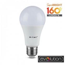 V-Tac Evolution VT-2310 Lampadina LED E27 Classic Bulbo 9.5W High Lumen - SKU 2809 | 2810 | 2811