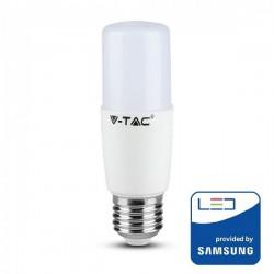 V-Tac PRO VT-237 Lampadina LED E27 Tubolare 8W CHIP SAMSUNG - SKU 144 | 145 | 146
