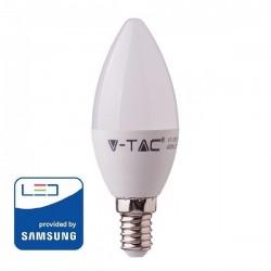 V-Tac PRO VT-268 Lampadina LED E14 Candela 7W CHIP SAMSUNG - SKU 111 | 112 | 113