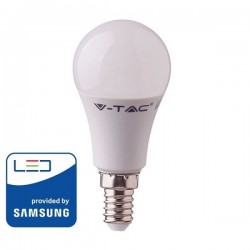 V-Tac PRO VT-269 Lampadina LED E14 Mini-Bulbo A60 9W CHIP SAMSUNG - SKU 114 | 115 | 116