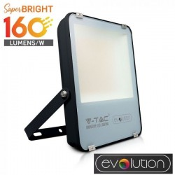V-Tac Evolution VT-49161 Faro LED da Esterno 100W Nero High Lumen - SKU 5920 | 5921