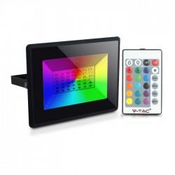 V-Tac VT-4952 Faro LED da Esterno RGB 50W Dimmerabile con Telecomando - SKU 5996