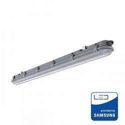 V-Tac PRO VT-60018 Tubo LED Plafoniera Impermeabile IP65 18W 60cm - SKU 20209 | 20208