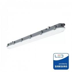 V-Tac PRO VT-150048 Tubo LED Plafoniera Impermeabile IP65 48W 150cm - SKU 20203 | 20202