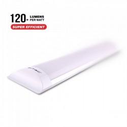 V-Tac PRO VT-8-40 Tubo LED Prismatico Plafoniera 40W 120cm CHIP SAMSUNG - SKU 665 | 666 | 667