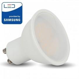 V-Tac PRO VT-271 Lampadina LED GU10 Faretto Spotlight 10W 110° CHIP SAMSUNG - SKU 878 | 879 | 880