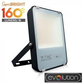 V-Tac Evolution VT-49161 Faro LED da Esterno 100W Nero High Lumen - SKU 5920 | 5921
