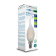 Scatola V-Tac VT-2056D Lampadina LED Filamento Frost Fiamma E14 4W Dimmerabile